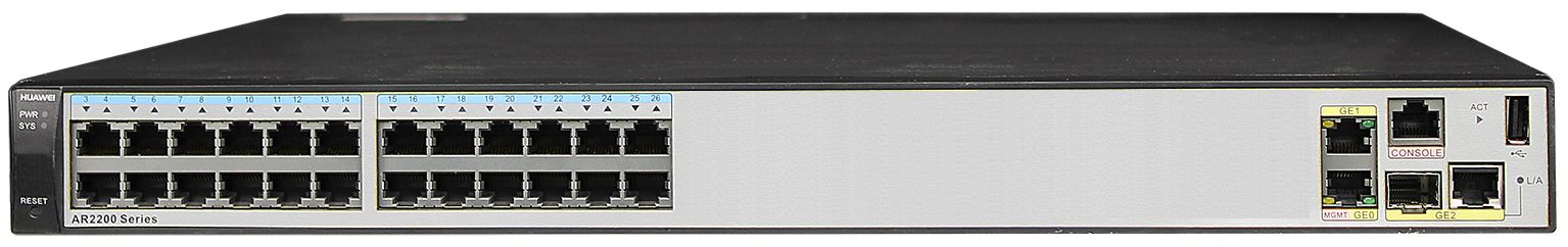 Routers Huawei AR2200 Series